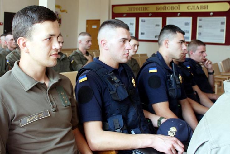 Франківських нацгвардійців навчатимуть викладачі поліцейських вишів (ФОТО)
