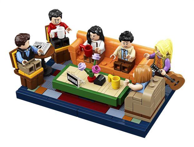 Lego випустили конструктор за мотивами серіалу «Друзі» (ФОТО)