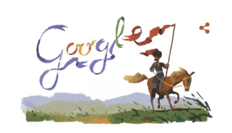 Google присвятив дудл українському письменнику Пантелеймону Кулішу