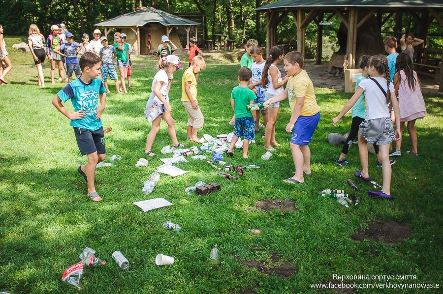 У Верховині для дітей влаштують екопікнік, де розкажуть про сортування сміття