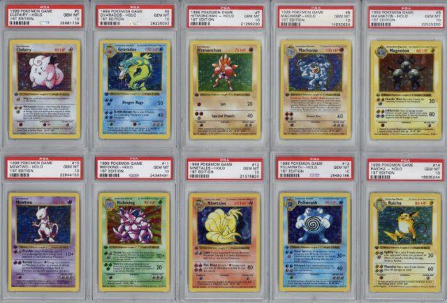Набір перших карток Pokémon продали за $107 000 (ФОТО)