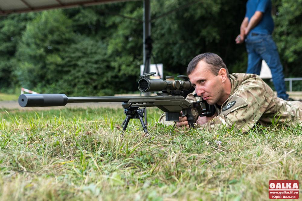 Прикарпатські АТОвці визначали найвправнішого стрільця (ФОТО)