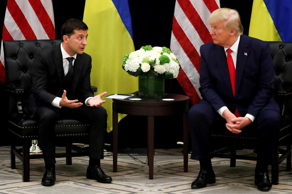 Захоплення Криму, війна і Байден: про що говорили Зеленський і Трамп під час першої зустрічі
