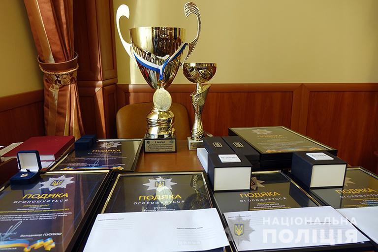 Найкращих поліціянтів області відзначили у Франківську (ФОТО)