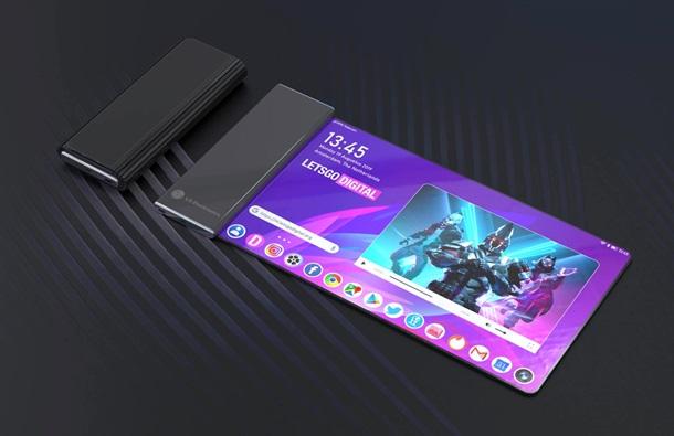 Компанія LG запатентувала смартфон з екраном, що згортається (ФОТО)