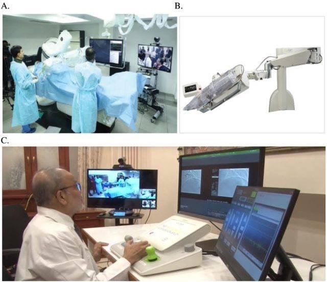 В Індії операцію на серці провели через інтернет