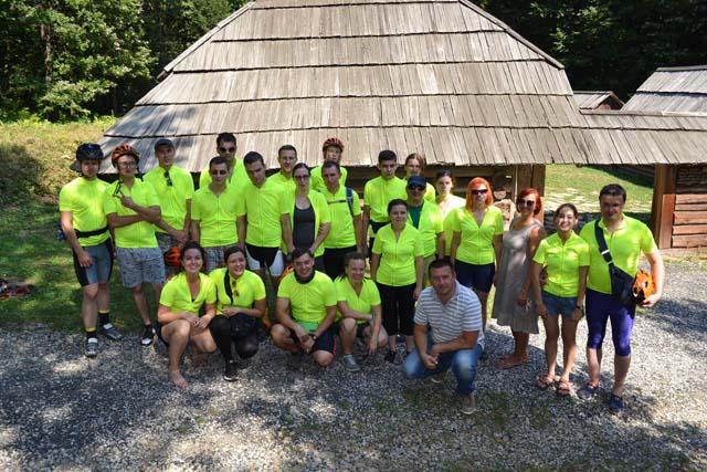Учасники Міжнародного велопробігу для незрячих людей завітали у«Давній Галич» (ФОТО)