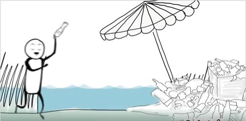 """""""Я прибрав, твоя черга!"""": прикарпатців заохочують зробити береги водойм чистішими (ВІДЕО)"""