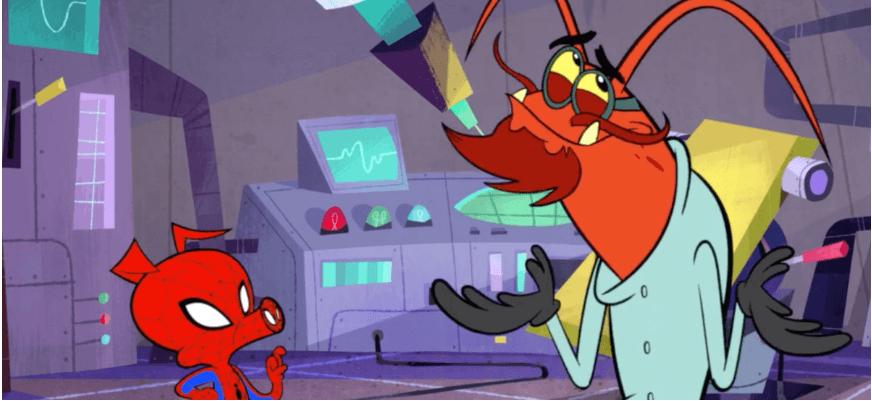 Sony випустила короткометражний мультфільм про Свина-павука (ВІДЕО)