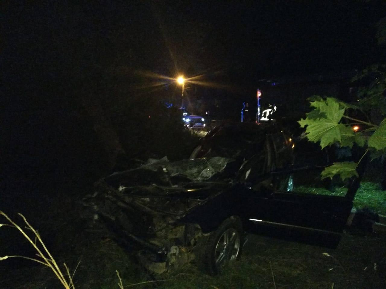 У Долині Рено врізалося у дерево: водій загинув на місці (ФОТО)