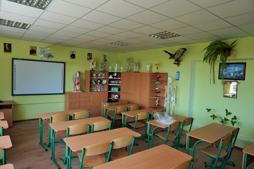 У школах Матеївецької ОТГ вперше за 40 років оновили матеріально-технічну базу (ФОТО)