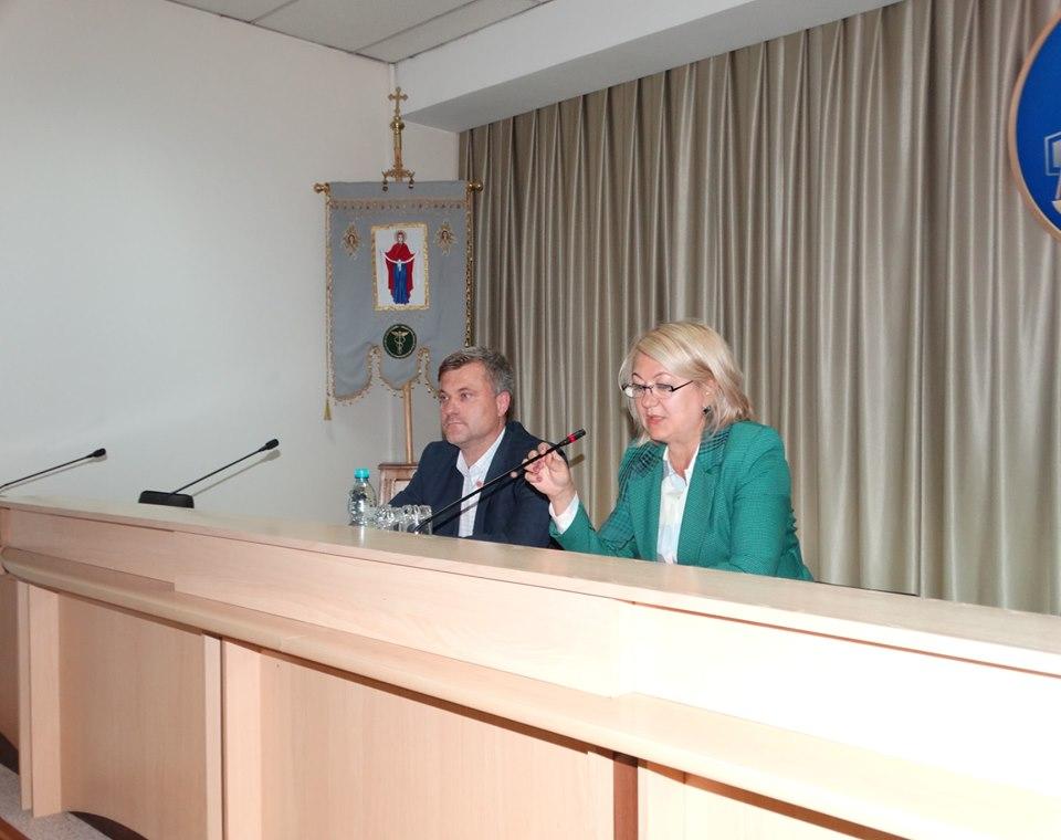 У новоствореній податковій службі області представили тимчасового керівника (фото)