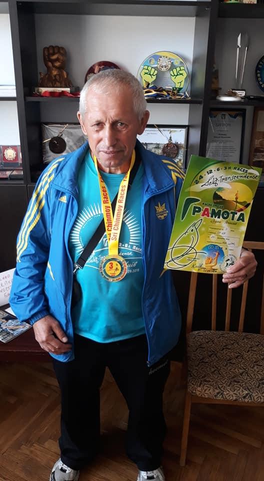 60-річний прикарпатець подолав 24-годинний біговий марафон
