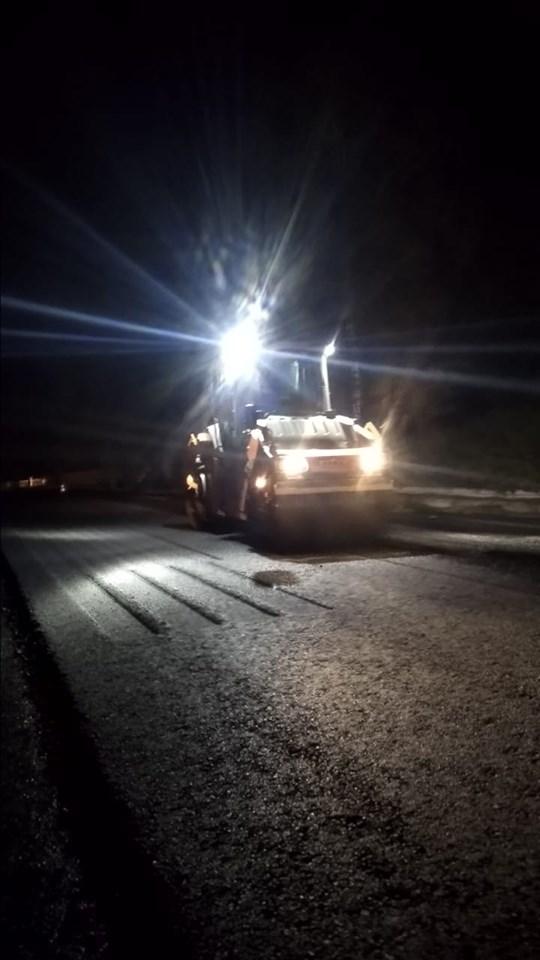 Дорогу Ворохта – Верховина активно асфальтують (фоторепортаж)