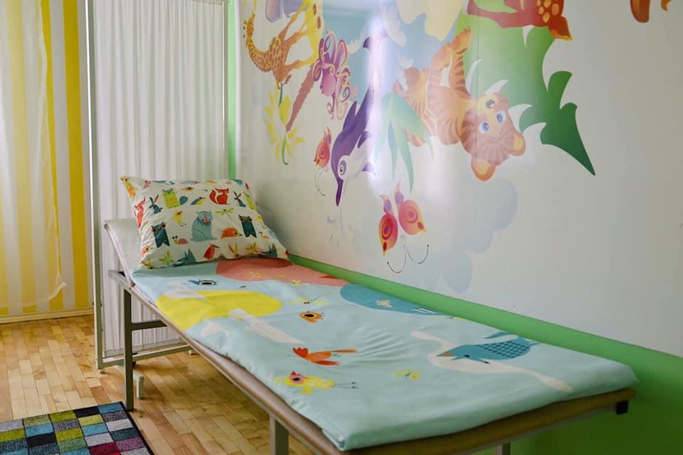 В одному із дитячих садків Франківська обладнали сучасний медичний кабінет (фотофакт)