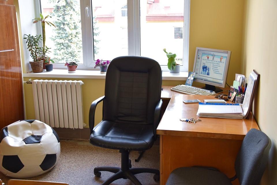 Сучасний кабінет психолога облаштували у спеціалізованій школі №11 (ФОТО)