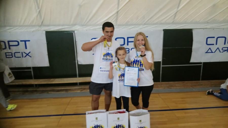Сім'я з ПРикарпаття посіла друге місце на Всеукраїнському спортивному фестивалі (фотофакт)