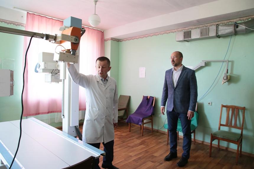 Для Рожнятівської ЦРЛ придбають новий рентген апарат (фоторепортаж)
