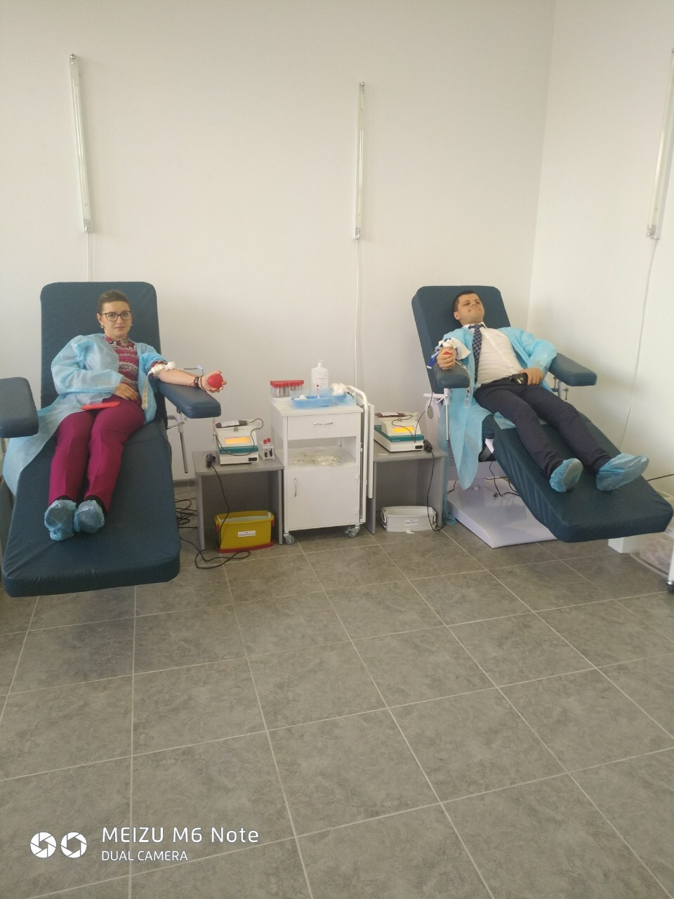 Прикарпатські прокурори долучилися до здачі крові (ФОТО)