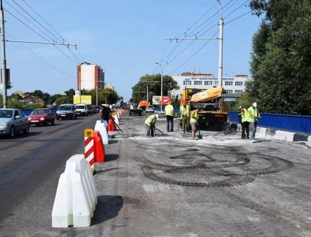 Фірма Шевченка затягнула ремонт мосту у Луцьку