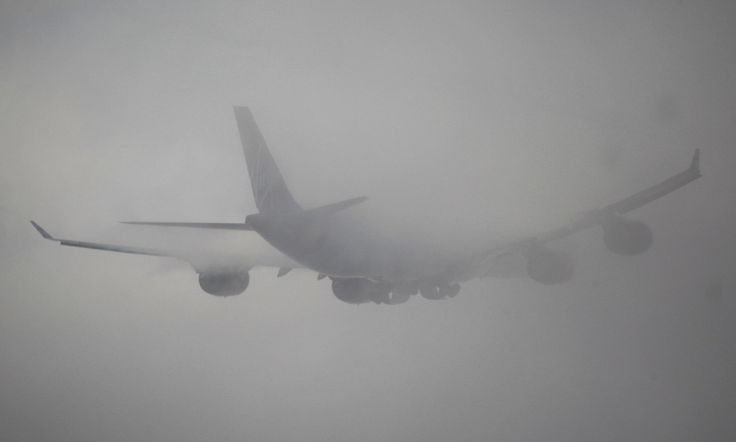 Франківський аеропорт відклав два рейси на Київ через туман