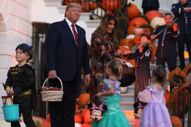 У Білому Домі відсвяткували Хеловін (ФОТО)
