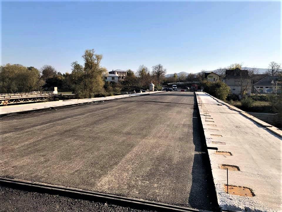 У Косові завершують будівництво моста через Рибницю (ФОТО)