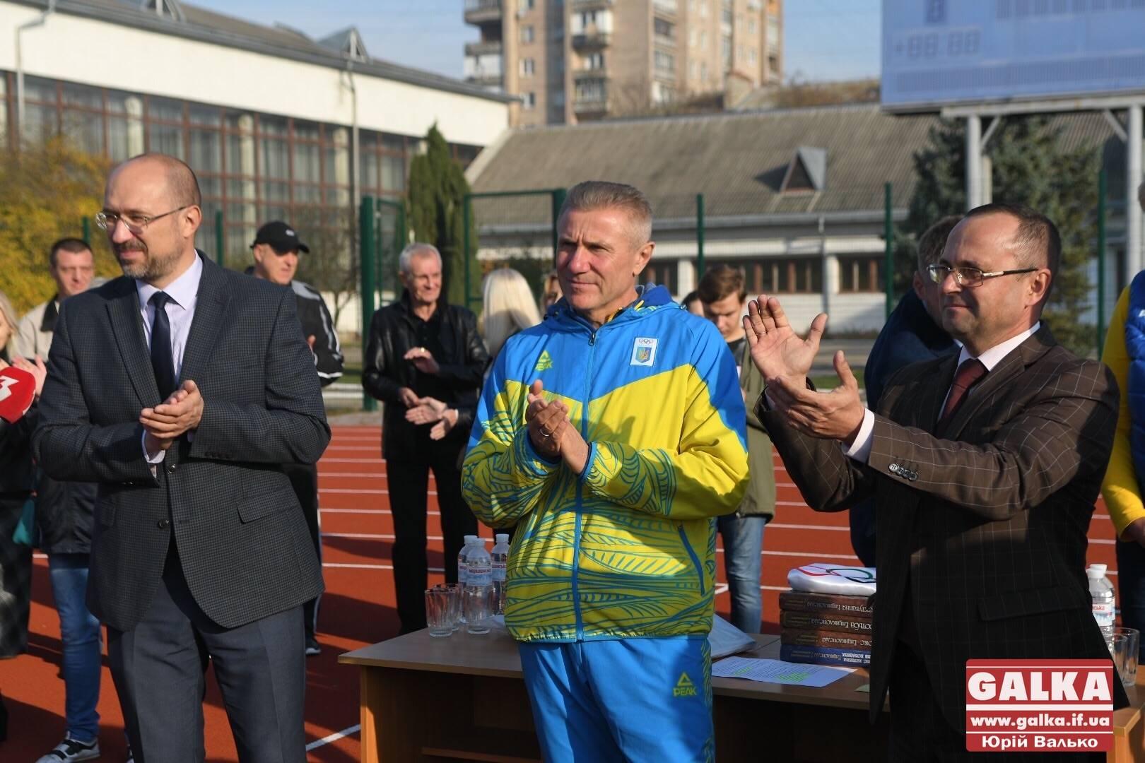 «Душа тішиться», – легендарний олімпієць Бубка оцінив легкоатлетичний стадіон у Франківську (ФОТО)