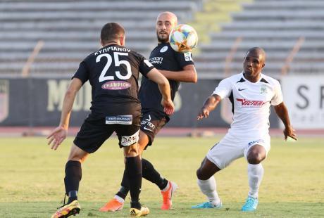 Франківський футболіст відзначився дебютним голом у чемпіонаті Кіпру (ВІДЕО)