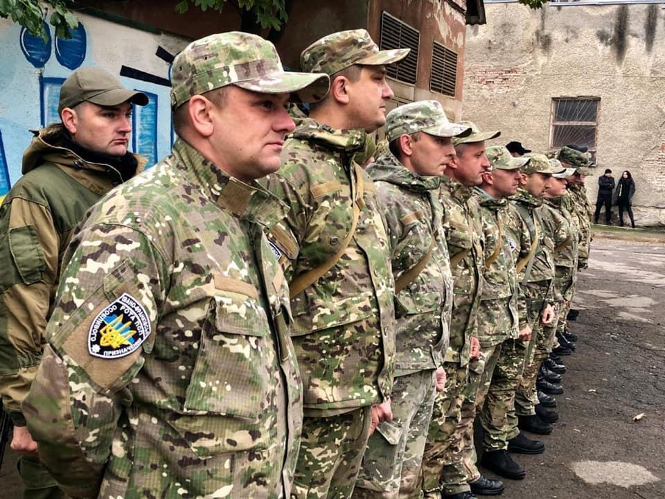 Прикарпатські поліціянти вирушили в зону ООС (ФОТО)