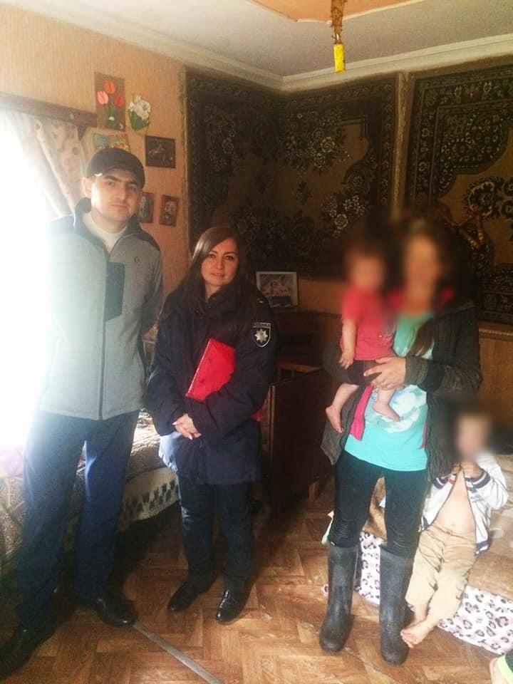 Горе-матір з Косівщини занедбала семеро дітей. На неї склали адмінпротокол (ФОТО)