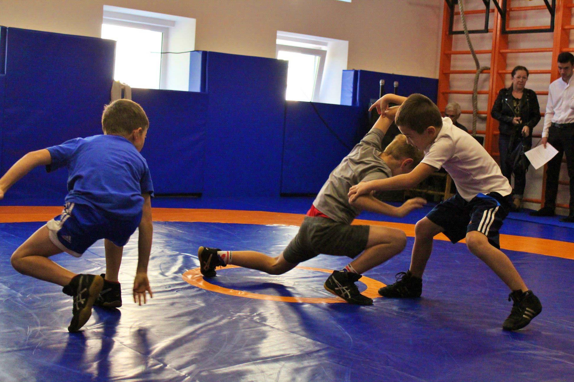 Нову залу для юних борців відкрили в обласному центрі (ФОТО)