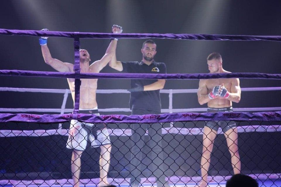 Франківський боєць переміг на Міжнародних змаганнях у Польщі (ФОТО)