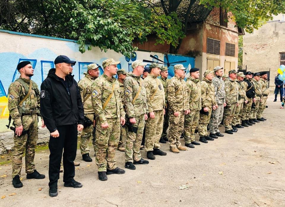 Поліціянти Прикарпаття повернулися додому з зони ООС (ФОТО)
