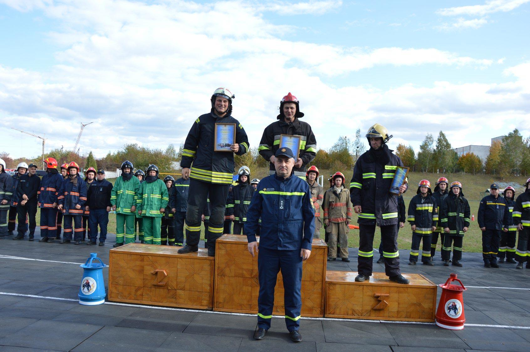 Прикарпатські рятувальники змагалися у турнірі серед газодимозахисників (ВІДЕО)