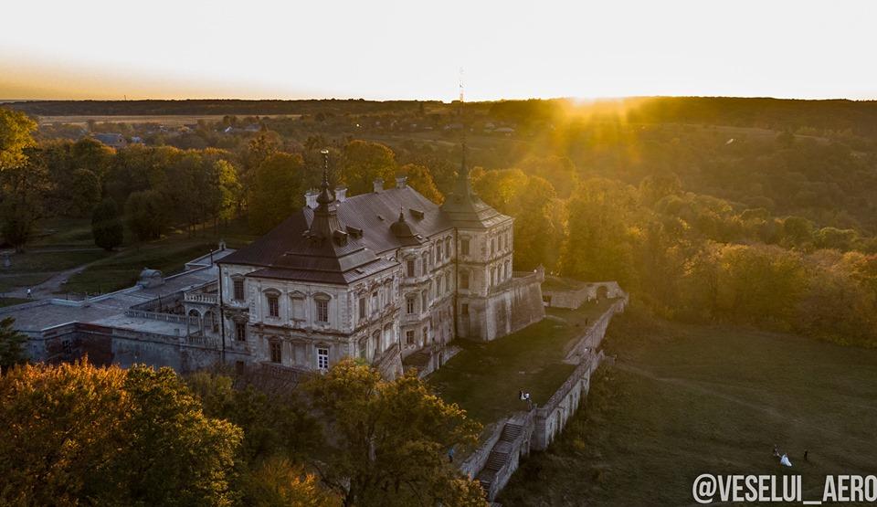 Франківець показав, як виглядає Підгорецький замок з неба (ФОТО)