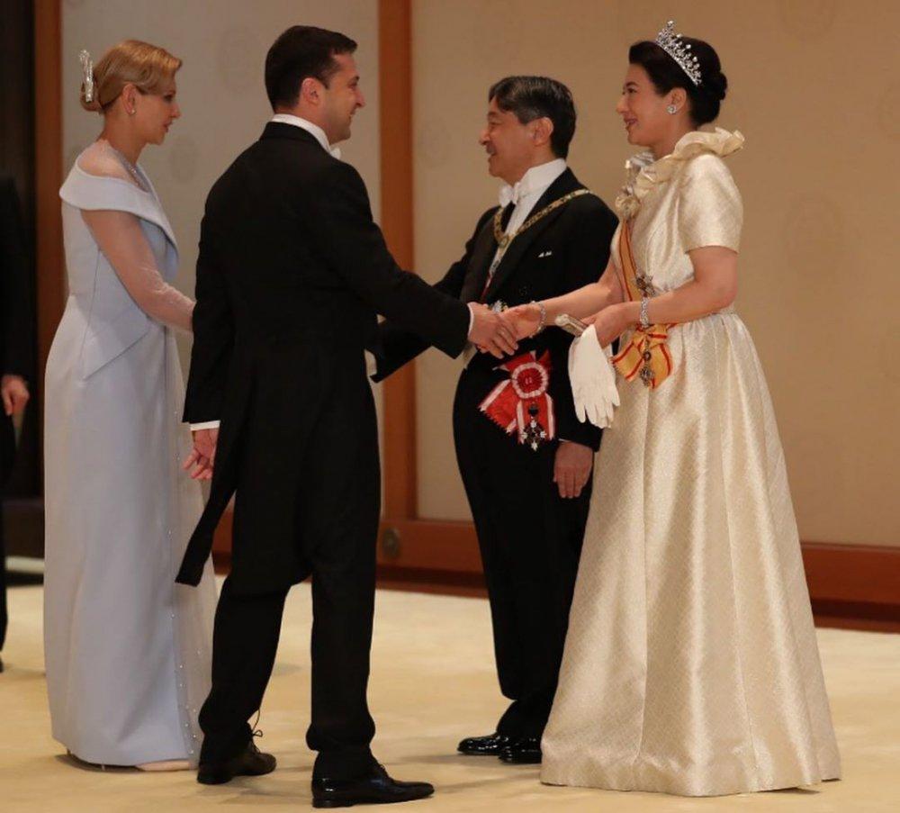 Перша леді України та імператриця Японії показали спільні фото