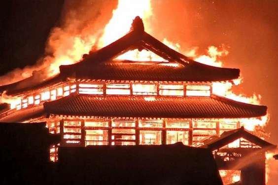 В Японії згорів 500-річний замок (ФОТО, ВІДЕО)
