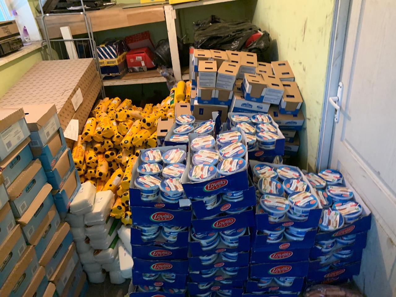 В автобусі «Івано-Франківськ – Перемишль» виявили понад дві тонни контрабанди (ФОТО)