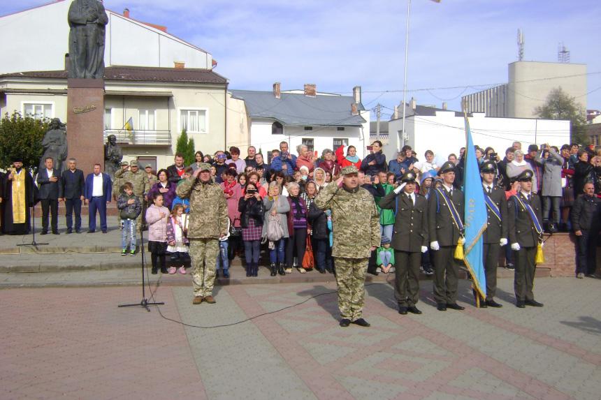 Понад 130 ліцеїстів Прикарпатського військово-спортивного ліцею-інтернату урочисто склали клятву (ФОТО)