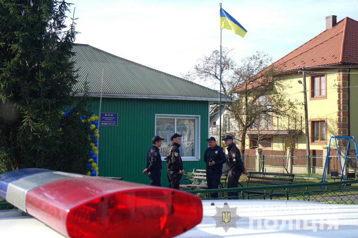 В області відкрили десяту поліцейську станцію (ФОТО)