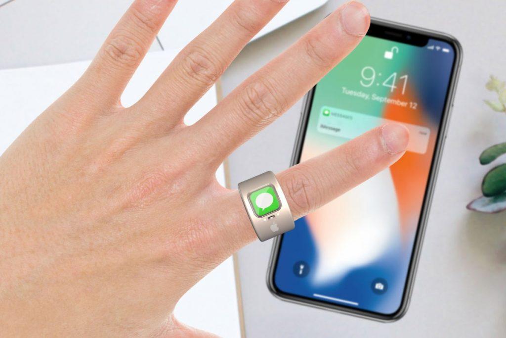Apple запатентувала смарт-кільце для управління iPhone і іншими пристроями