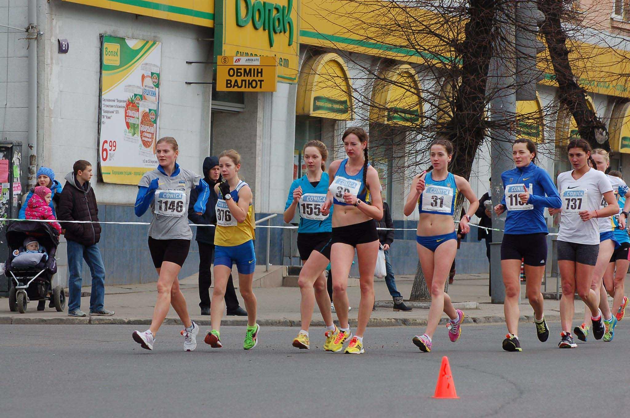 Під час змагань скороходів у Франківську активним вболівальникам даватимуть призи