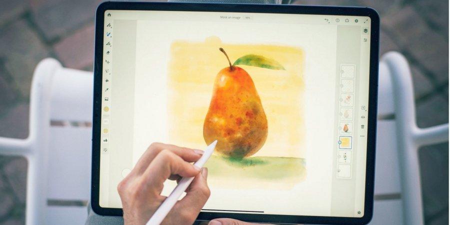 Щоб малювали. У iPad з'явиться графічний редактор Adobe