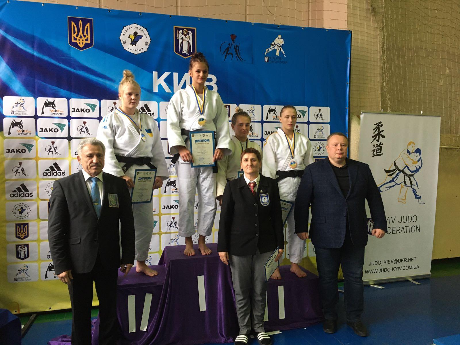 Прикарпатські спортсмени відзначилися на чемпіонаті України з дзюдо