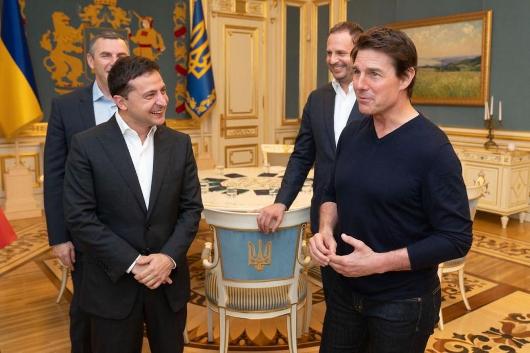 Том Круз приїхав на зустріч із президентом Зеленським (ФОТО, ВІДЕО)