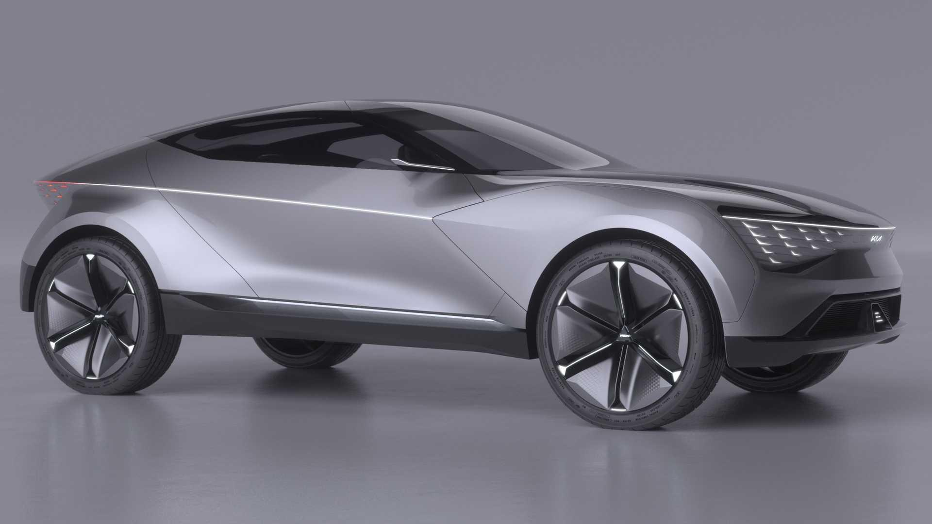 КІА представила концепт електрокара Futuron з лежачими кріслами