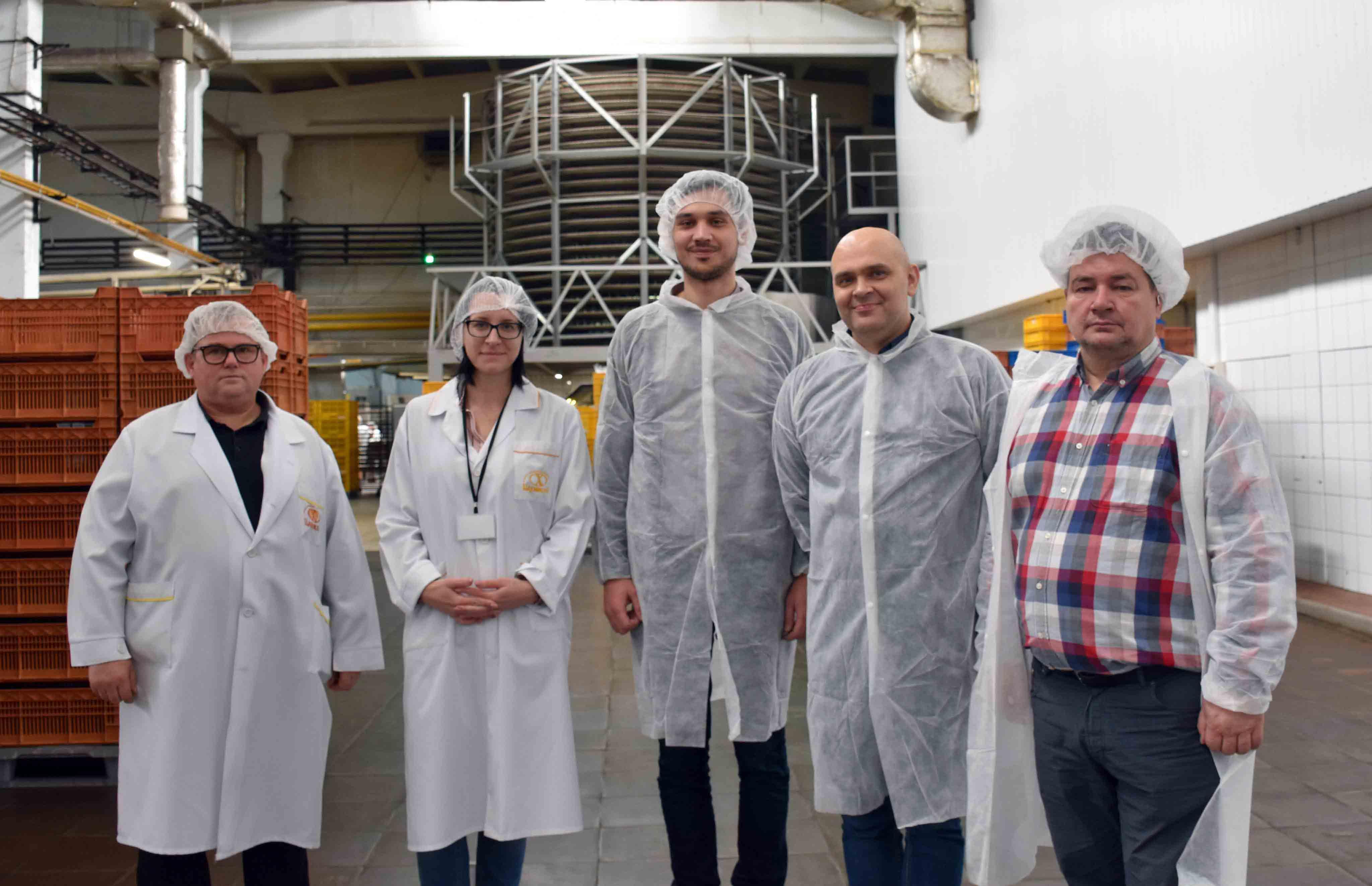 Івано-Франківський хлібокомбінат продовжує приймати іноземні делегації (ФОТО)