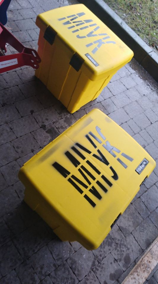 У Франківську вкрали нещодавно встановлені ящики для піску