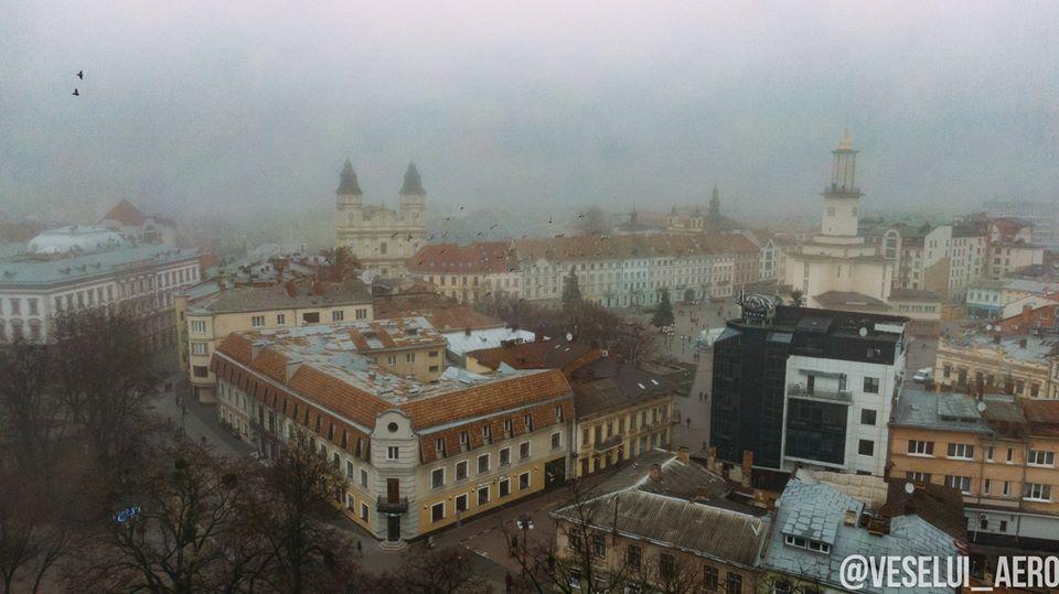 Фахівці розповіли, через що найбільше забруднюється повітря у Франківську